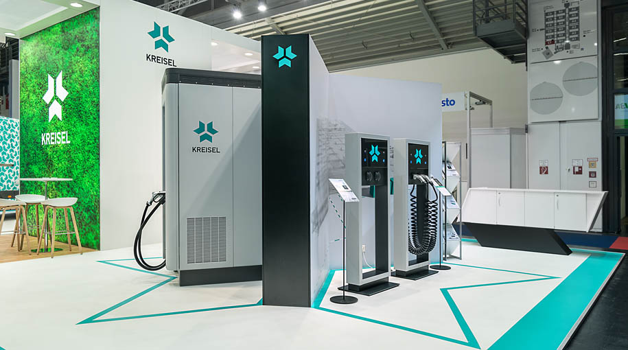 Kreisel Electric - Messestand Intersolar in München - Chritto Messebau